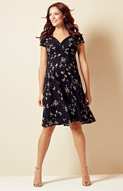 Alessandra Maternity Dress Short Night Blossom