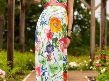 Alana Maxi Maternity Dress Hawaiian Breeze - Maternity ...