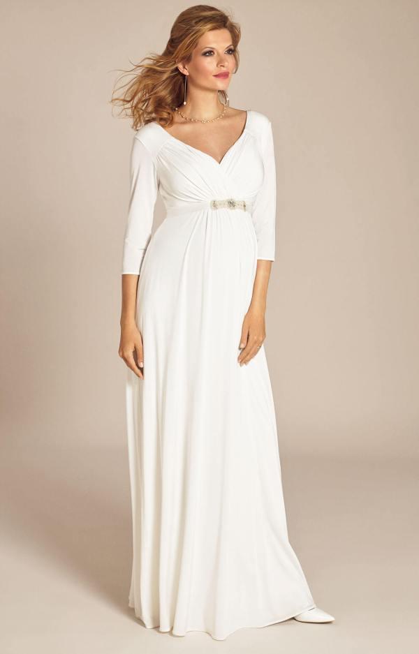 Maternity Ivory Wedding Dress