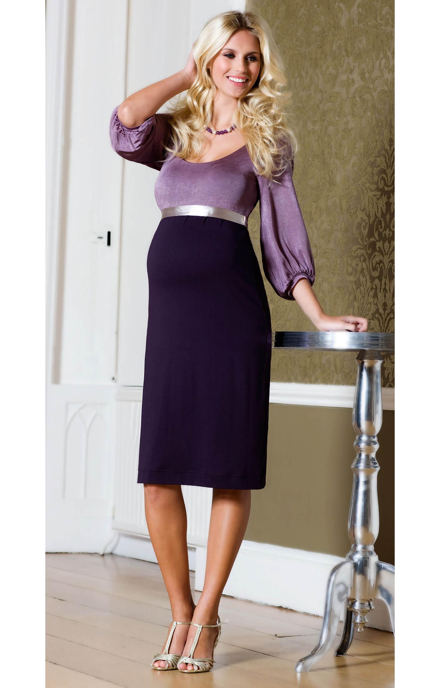 Sienna Maternity Dress Heather  Maternity Wedding