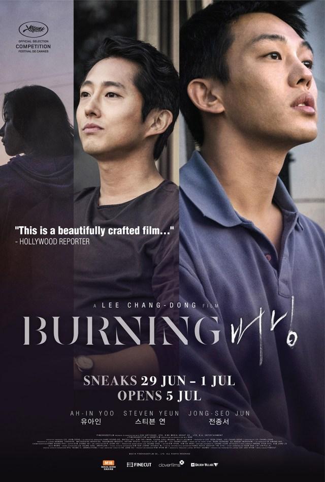 BURNING Korean Movie Poster