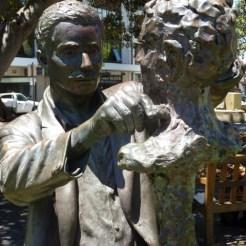 Statue of sculptor Pietro Porcelli - Fremantle, WA