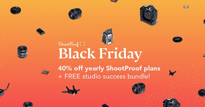 ShootProof, Black Friday & Cyber Monday Deal 2017