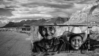 Public Artist Projects Navajo Life In A Dignified Way