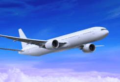 0) aereo in volo