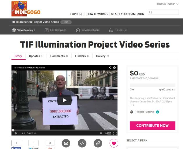 IndieGoGo campaign