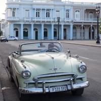 Cuba Triumph Tiger 800XC round the world RTW
