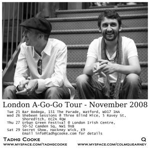 November Tour 08