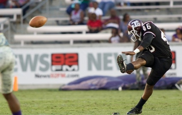 TSU Punter Cory Carter Ranked Among the Best in the Nation