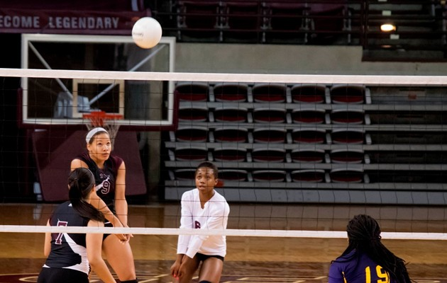 Volleyball dominates Huston-Tillotson on the road winning 3-0