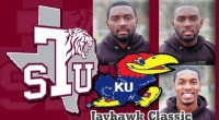 The Texas Southern Tigers men's 4x400m relay team took first place in the Jayhawk Classic Indoor meet at the University of Kansas. …read more Read more here: TSUBall.com Related posts: […]