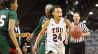 The Texas Southern Lady Tigers continued their winning streak with a dominating 84-76 victory against …read more Read more here: TSUBall.com Related posts: Lady Tigers secure 51-46 victory over Prairie […]