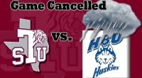 Texas Southern vs Houston Baptist baseball game for Tuesday, as been cancelled. …read more Read more here: TSUBall.com Related posts: Softball drops a 14-6 decision to HBU Huskies Texas Southern […]