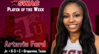 Sophomore transfer named Player of the Week after she averaged 22.5 points and 10 rebounds per game during team's trip to Puerto Rico. …read more Related posts: Lady Tigers Win […]