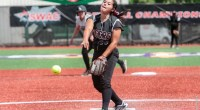 Lauren Rodriguez strikes out 10 batters in game one victory. …read more Related posts: Lady Tigers return to winning ways with 50-34 win at HBU Rice holds off late TSU […]