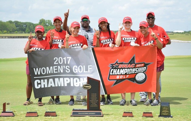 Texas Southern Lady Tigers Golf wins first SWAC Title in school history