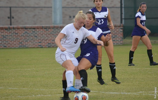 Hayward ties TSU career goals record in 8-1 win over Mississippi Valley State