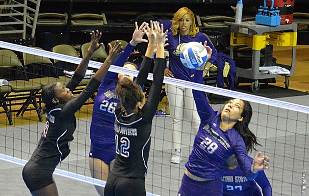 Lady Tigers sweep Jackson State, Mississippi Valley State