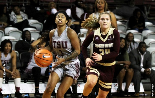 Kennerson scores career-high 33 points, Lady Tigers fall to Texas State