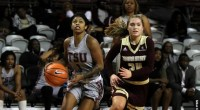 TSU concludes road trip Monday at Arkansas–Pine Bluff. …read more Related posts: Lady Tigers split first day of SWAC Roundup Lady Tigers defeat Alabama State 68-54, will face Grambling for […]