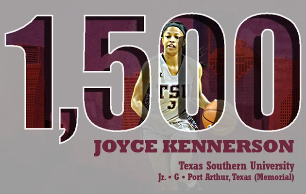 Lady Tigers topple Alabama A&M as Kennerson scores 1,500th career point