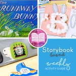 The Runaway Bunny free storybook based weekly activities for toddlers and preschoolers