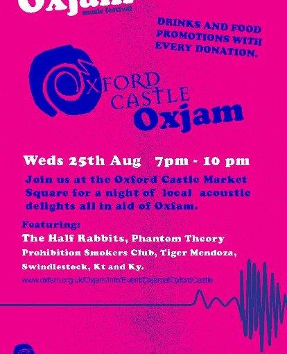 Oxjam @ Oxford Castle