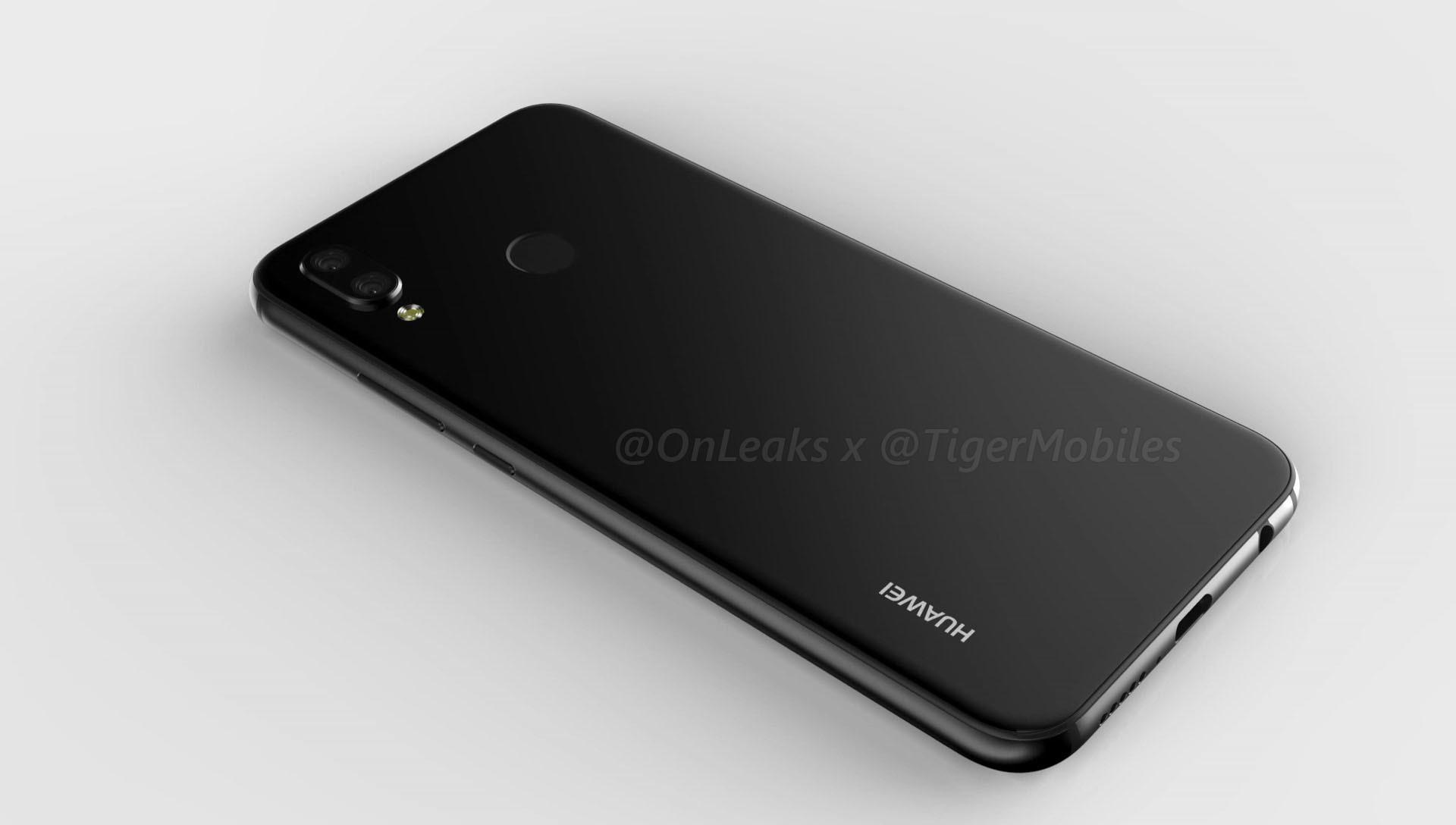 Trendy Techz Huawei P20 Lite 360 renders