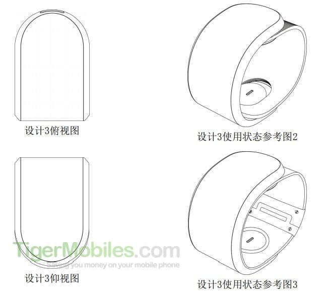 Lenovo patent shows flexible smartphone design