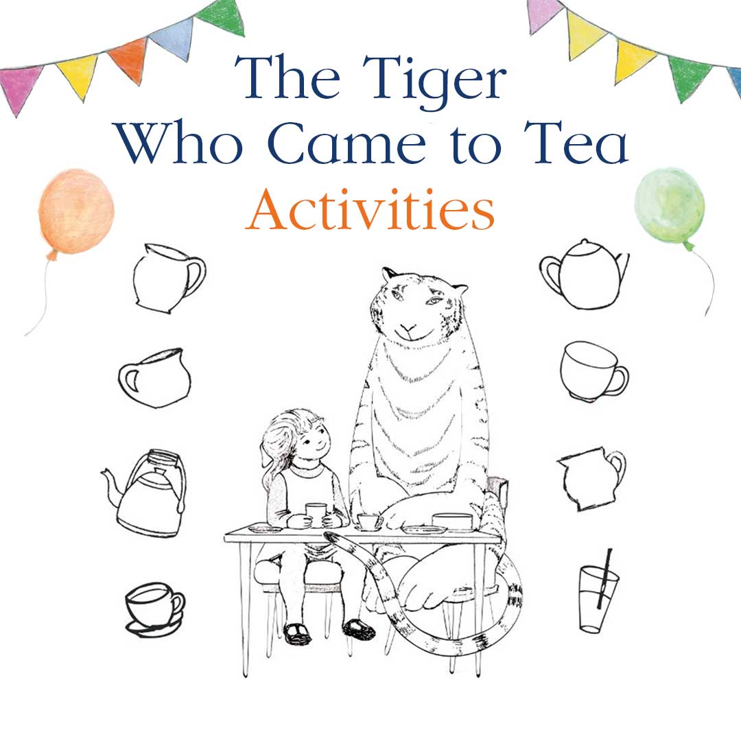 Colouring Pictures Of The Tiger Who Came To Tea
