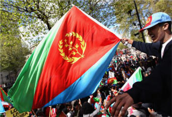 Young Eritreans, who have fled abroad to escape compulsory military service, have turned to new media to attack the regime.