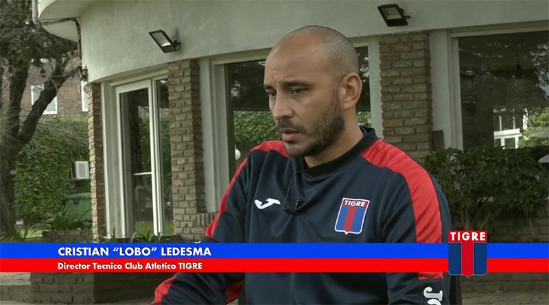 "Cristian Ledesma: ""No me asusta tener que sacar tantos puntos, me genera una meta"""