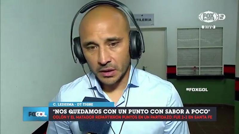 """Cristian Ledesma: """"Nuestra idea es ir a buscar, ser protagonistas"""""""