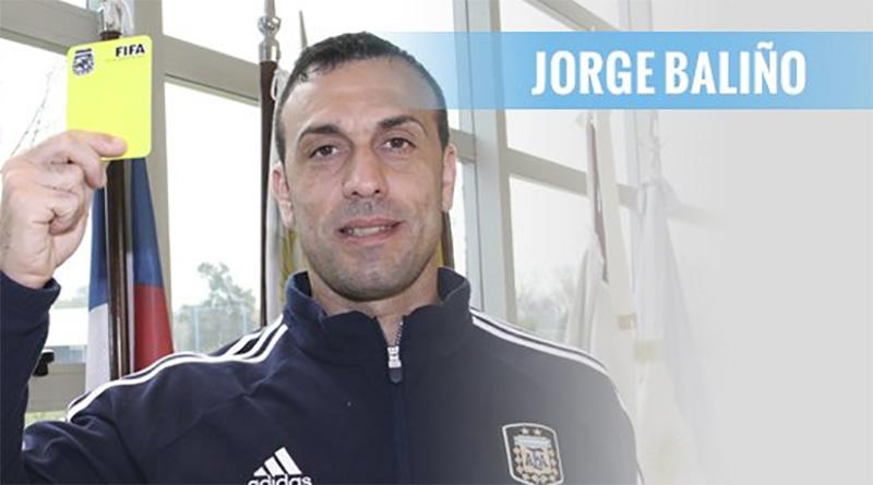 Jorge Baliño será el árbitro de Tigre – Huracán