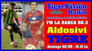 Tigre y su gran oportunidad para descontar ante Aldosivi