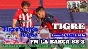 En el debut de Echeverría, Tigre recibe a Estudiantes LP