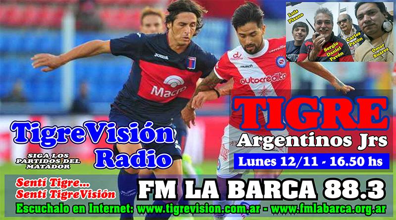 Tigre busca reencontrar la esperanza ante Argentinos Juniors