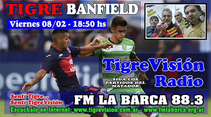 Tigre recibe a Banfield en busca de recuperar la ilusión