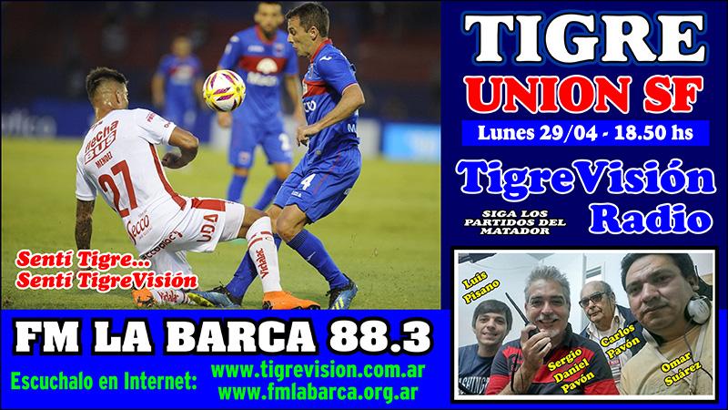 Tigre recibe a Unión por octavos