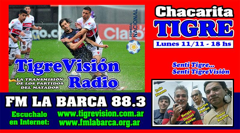 Tigre visita a Chacarita con un solo objetivo: GANAR