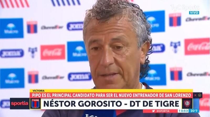 Gorosito habló para no decir nada