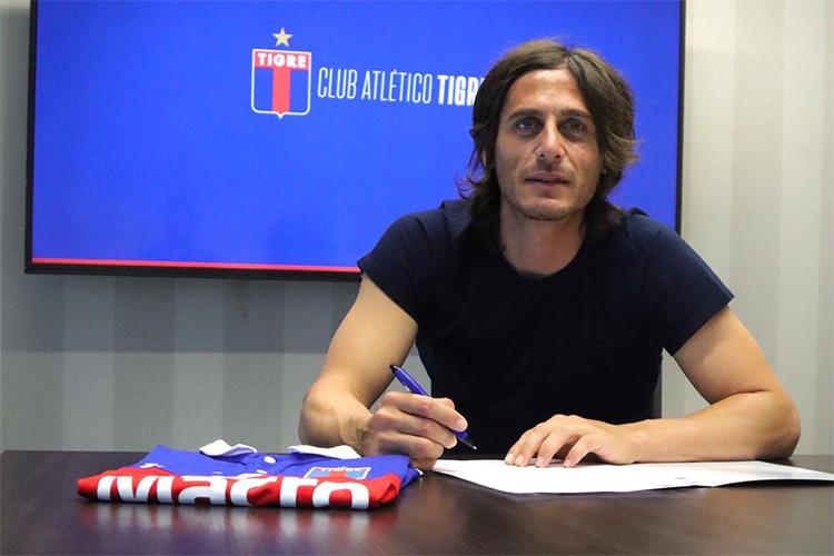 Sebastián Prediger firmó contrato