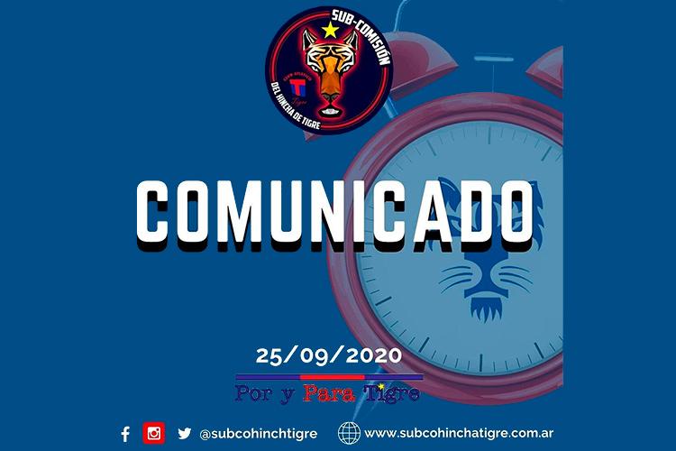 """Nuevo reclamo público de la """"subco"""" a la CD"""