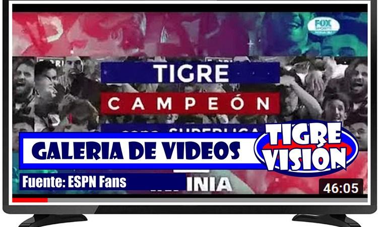 El especial de Tigre campeón de la Copa Superliga