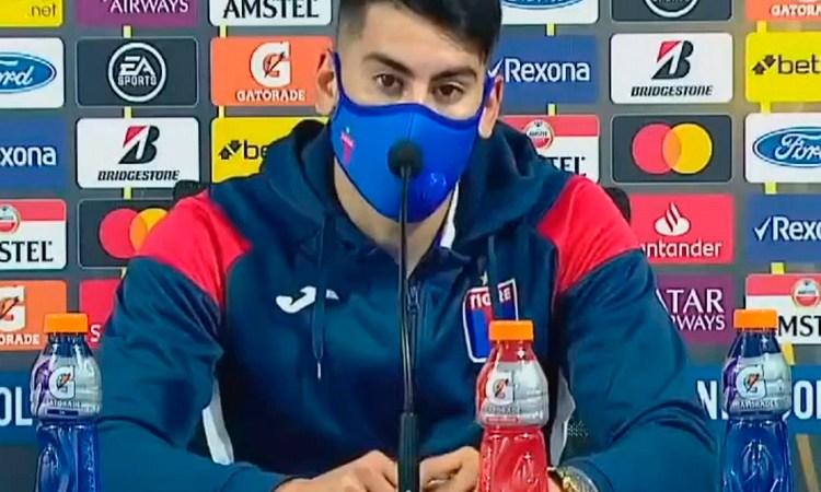 """Agustín Cardozo: """"Sabemos que tenemos que mejorar muchísimo"""""""