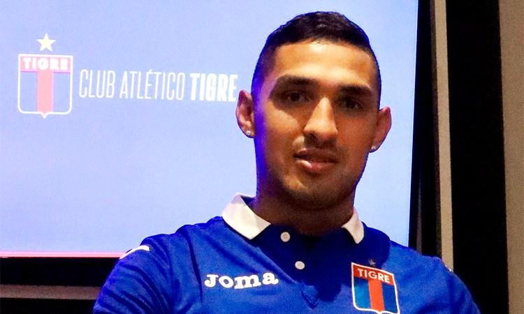 """Fernando Alarcón: """"Apenas me llegó la oferta de Tigre, ni lo dudé"""""""