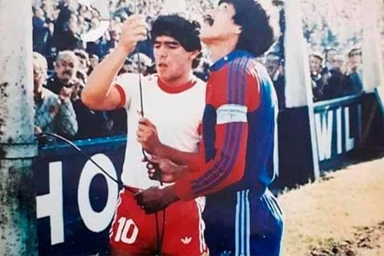 El Beto Carrizo recordó a Maradona