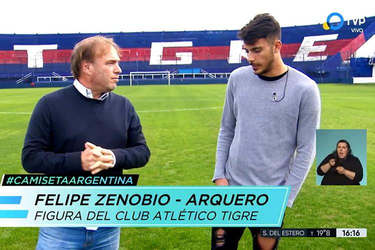 Felipe Zenobio en la Televisión Pública