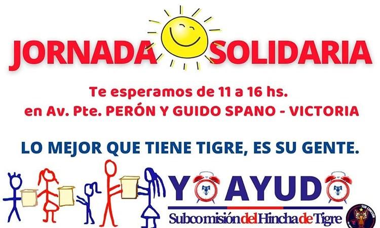 Jornada solidaria el próximo sábado