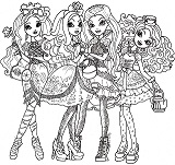 briar_beauty, apple_white, raven_queen, madeline_hatter
